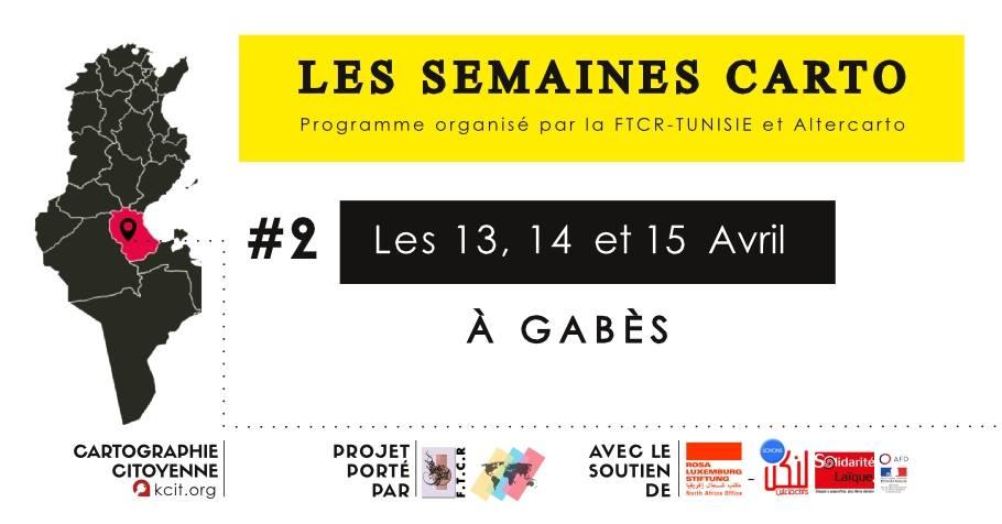 Les Semaines CARTO : #2 à Gabès