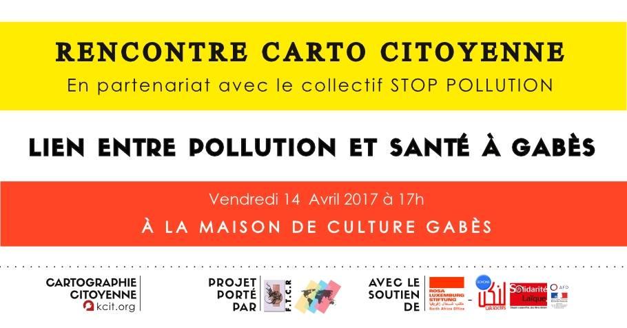 Rencontre publique sur le lien entre pollution et santé à Gabès