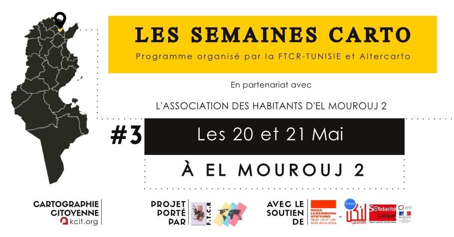 Les Semaines Carto : #3 à El Mourouj 2