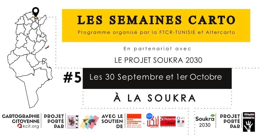 Les semaines CARTO : #5 À Soukra