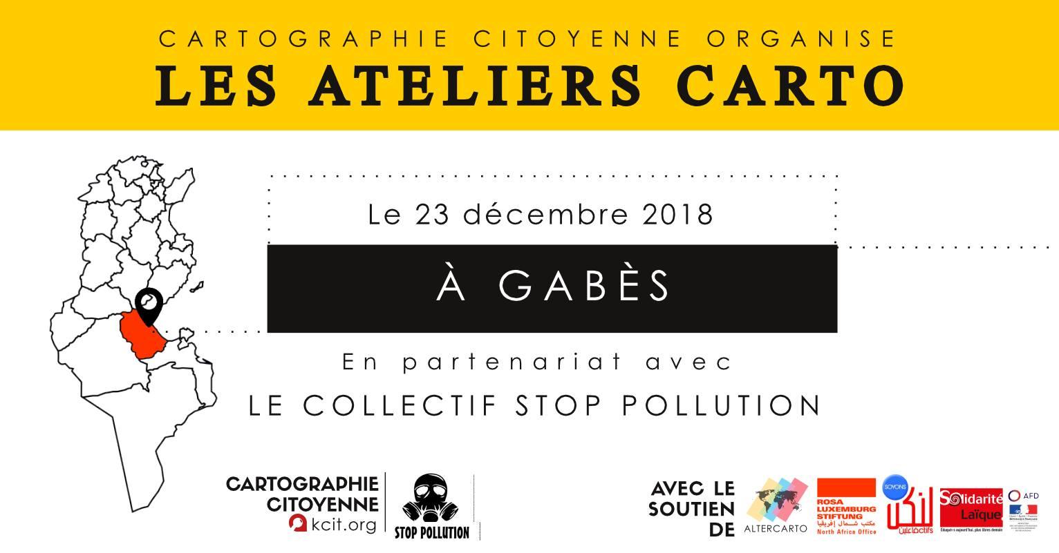 Les semaines CARTO : #8 à Gabès