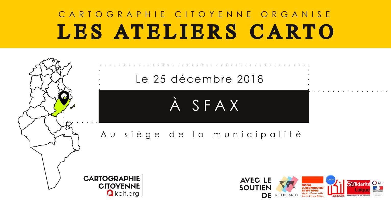 Les ateliers CARTO : #9 À Sfax