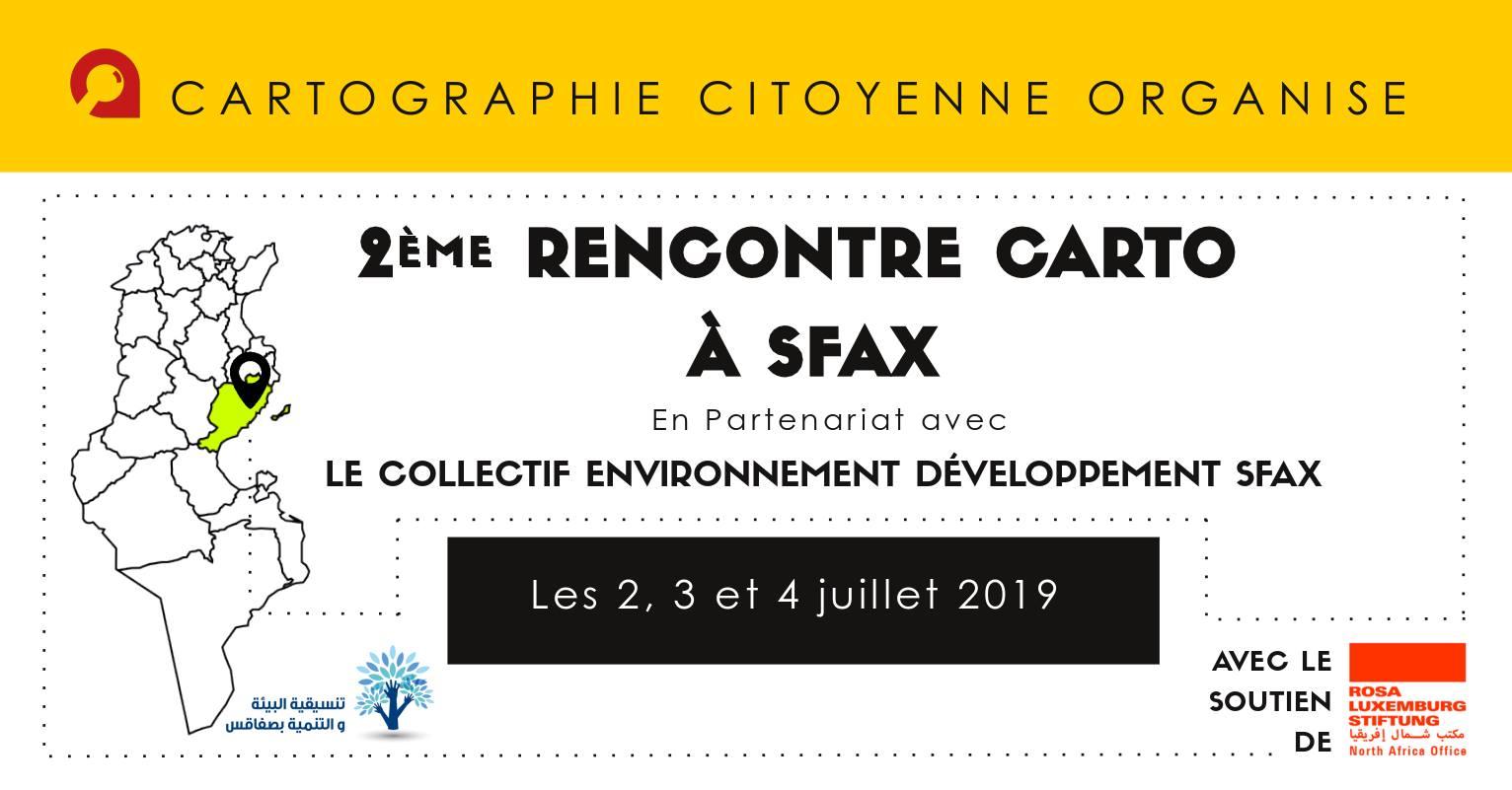 2ème Rencontre Carto à Sfax